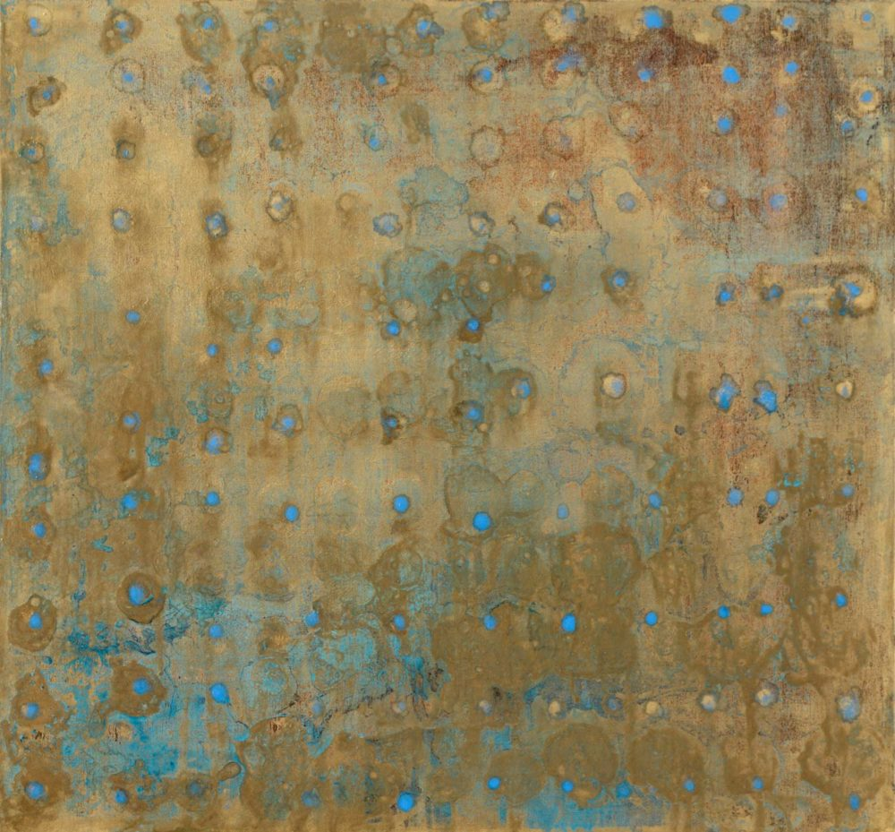 Untitled, Oil on linen, 183 x 183cm, 2009