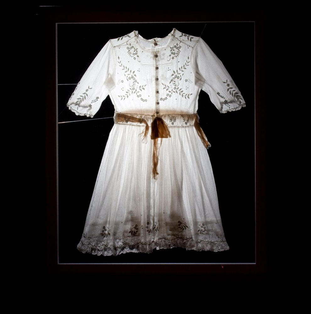 Reconstructing Memory - lace dress